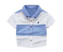 2019 diseño de la camiseta NUEVA LLEGADA Niños camiseta de dibujos animados bordado diseño del barco niño niño ropa manga corta niña camiseta niño verano diseño de la camiseta baratos