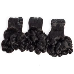 Brezilyalı Malezya Hint Perulu Funmi Saç 10-20 inç Gül Curl Bahar Curl Büyülü Saç uzantıları 80 g / adet Remy Bakire Insan Saçı cheap curling indian remy hair nereden kıvırcık indian remy saç tedarikçiler
