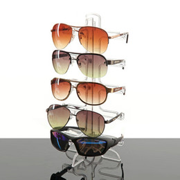 c828eaf3a 5 Layers Plastic Frame Sunglasses Display Stand Glasses Eyeglasses Colorful  Eyewear Counter Show Stands Holder Rack