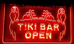 Wholesale Open Pub - LS017-r OPEN Tiki Bar NEW Displays Pub Neon Light Signs Decor Free Shipping Dropshipping Wholesale 8 colors to choose