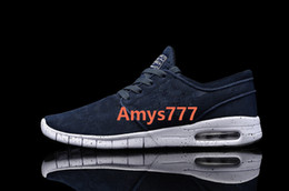 Wholesale Sneakers Mens Brands - SB Stefan Janoski Mens Sneakers Brand Mesh Shoes Man Walking Shoes Colors Size 40-45 Top Quality