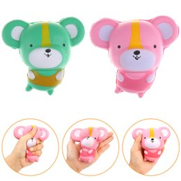 Wholesale Toy Rats Wholesale - Squishy Kawaii Mouse Slow Rising Toys Mice New Decoration Animals Perfume Squishies Relaxation Cute Rat Anti Stress Freeshipping SQU027