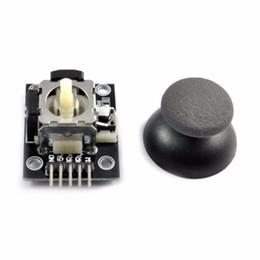 Sensor de eje online-Teclado de 5 pines con doble eje PS2 Joystick con joystick Joystick Controlador JoyStick