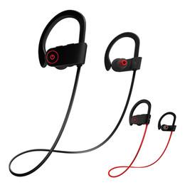 Argentina Auriculares estéreo de auriculares con micrófono Sonido HD Audífonos inalámbricos Bluetooth IPX7 Impermeables a prueba de sudor Ejecución de auriculares deportivos supplier hd mic Suministro