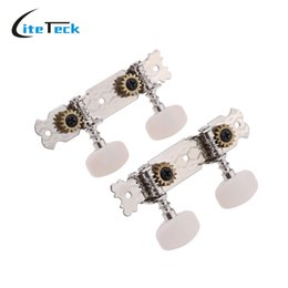 Wholesale Tuning Pegs For Guitar - Wholesale- High Quality 1 Pair (2R2L ) Guitar Tuning Pegs Keys Tuner Machine Heads String Tuner for Ukulele 4 Strings Classical Guitar