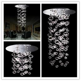 Люстра потолочная люстра потолочная онлайн-Бурлящий шарик подвесной светильник Murano due пузырь стекла люстра подвеска 4шт GU10 свет нестандартного размера прозрачный современный Кристалл потолочный светильник