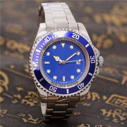 Wholesale Fashion Dove - The king of diving relogio masculino watches Luxury wist fashion With Calendar Bracklet Folding Clasp Master Male giftluxury Mens Watches