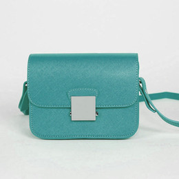 Wholesale Candy Colored - The new chain single shoulder small square shoulder bag candy colored bag.