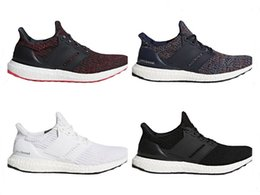 Wholesale Blue Year - Big Size Ultra Boost 4.0 Running Shoes Chinese New Year Black Navy Multi Color White Men Womens Real Boost Sneakers Size 36-48