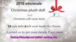 Canada 18 Style poupée elfe de Noël 50PCS et le livre de couverture souple de Noël 50PCS plateau elfes jouet sur le plateau pour les enfants de Noël cadeaux poupées Offre