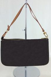 Мода POCHETTE цепи сумка Марка натуральная кожа холст плечо сумки через плечо m40712 Damier старинные Маджонг Ева клатчи от