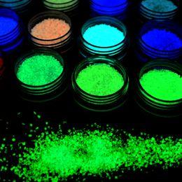 Art sain en Ligne-YZWLE 2017 Nouvelle Annonce Glitter Luminous Nail Art Autocollant Autocollants Conseils Décoration DIY Ongles Acrylique Sain Beauté Nail Art