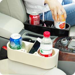 Saco de armazenamento lateral do assento de carro on-line-Acessórios Interior Do carro Lado Assento Organizador Titular Multi-Função Saco De Armazenamento De Viagem Telefone Carteira Organizador