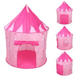 Portable Enfants Enfants Jouer Tentes En Plein Air Jardin Pliant Jouet Tente Pop Up Enfants Fille Princesse Château En Plein Air Maison Tente ? partir de fabricateur