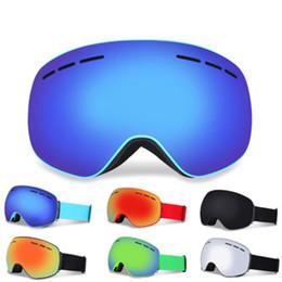 2018 Neue magnet skibrille große sphärische große sichtfeld schnee spiegel erwachsene outdoor-anti-fog ski gläser von Fabrikanten