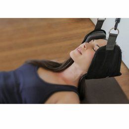 Wholesale Pain Neck - Neck Hammock Nerves Pressure Tension Headaches Pain Relief Massager Traction Device Cervical Posture Alignment Support free shipping