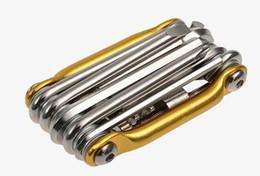 Boa! ferramentas de combinação de liga de alumínio ferramentas de reparação de bicicletas ferramentas de manutenção com kit de reparação de cortador de cadeia Conveniente, pequeno e portátil de