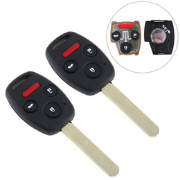 Wholesale Honda Remote Keyless Entry - Keyless Entry Remote Key Fob Clicker with Chip OUCG8D-380H-A for 2003 2004 2005 2006 2007 Honda Accord KEY_100