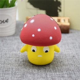 Wholesale Children Outlet - PU slow rebound toy Squishy new mushroom human foaming toys for children factory outlets