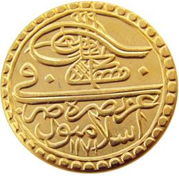 peru de fábrica Desconto Turquia Otomano Império 1 Zeri Mahbub 1171 Moeda De Ouro Promoção Barato Preço de Fábrica agradável para casa Acessórios Moedas de Prata