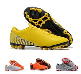 Assassino 12 Mercurial Superfly VI 360 botas de futebol de elite Vapor XII  Pro FG impermeável baixa qualidade superior 2018 chuteiras barato botas pro 90c6c97ae41f8