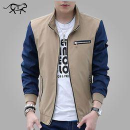 Moda primavera nuovo arrivo uomini giacca patchwork coreano Slim Fit Mens  abiti firmati uomini solidi Giacche casual Slim M-5XL designer coreano di  vestiti ... f32979057870