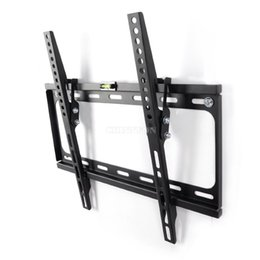 "Wholesale Tv 55 Led - DHL 10set T012 Super Low Profile LCD LED Plasma Angle Tilt Function TV Wall Mount Bracket 26""-55"""