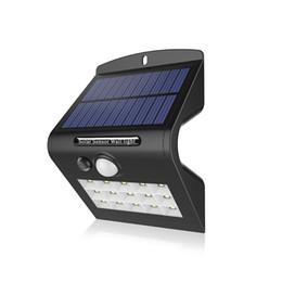 2019 großhandel solargarten neuheiten Großhandel Outdoor Wireless Solar Panel Powered PIR Bewegungssensor LED Neuheit Lampe mit 15 LEDs für Garten / Straße / Zaun Sicherheit günstig großhandel solargarten neuheiten