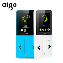 reproductor de video audio portátil Rebajas Aigo MP3-207 Reproductor de música portátil de moda Pantalla TFT de 1.8