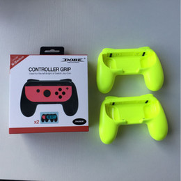 Wholesale Nintendo Games Consoles - Onleny 2PCS Game Console Joy-con Grips for NS Game Controller TNS-851B Gaming Joystick Handle Grips For Nintendo Switch
