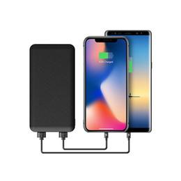 Chargeur mobile de banque de puissance de chargeur mince 10000 mAh, chargeur de batterie de banque de banque de puissance ultra-mince de polymère avec la lumière de LED pour l'iPhone X de Samsung S8 Plus ? partir de fabricateur