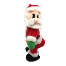 2020 beste neue spielzeug für weihnachten Weihnachten Musikalisches elektrisches Spielzeug Twerk Tanzen Weihnachtsmann Spielzeug nach Hause Ornament elektronische Weihnachtsmann Puppe Bestes Neujahrsgeschenk für Kinder rabatt beste neue spielzeug für weihnachten