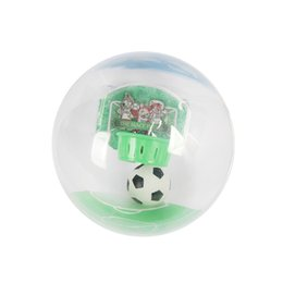 Wholesale Music Cup - 2018 Russia World Cup Decompression Toys Music Finger Luminescence Fotmob Artificial Mini Hand Soccer Gift With Football Frame 6 3bx W