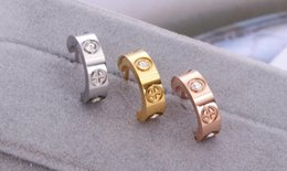 Кольца южная корея онлайн-Новый корейской версии горячая распродажа бриллиантовое кольцо розовое золото серьги Южная Корея г-жа серьги