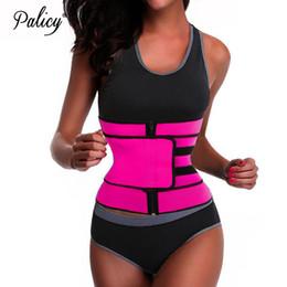 1ca9a6e6df Mujeres Palicy rosa negro Underbust cintura Cincher Body Shaper chaleco  control de la barriga entrenamiento cintura entrenador adelgazante Corset  Top Belt ...
