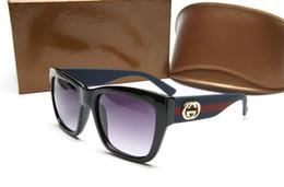Marca grande de ojos online-Lujo italia 0034 gafas de sol de las mujeres de marca de moda gafas de sol de gran marco cuadrado ojo diseñador de lujo con logo eyewear envío gratis