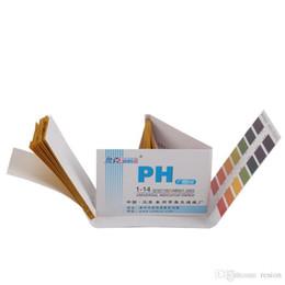 ph kit de tiras reactivas litmus Rebajas Wholesale-2 Set Kit 160x Tiras PH Prueba de laboratorio Laboratorio Indicador Tiras de orina Rango completo 1-14 Papel Litmus Saliva Orina Probador de ácido alcalino