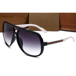 Wholesale Colors Luxury Fashion - 2018 luxury brand designer sunglasses women with box UV400 oversize frame fashion sunglasses for woman 3 colors 4413