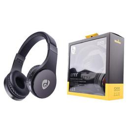 2019 auriculares de alta qualidade Venda quente S55 Fones De Ouvido Sem Fio Bluetooth 4.1 Gaming Headset Fones De Ouvido Estéreo Fone De Ouvido Com Microfone de Alta Qualidade desconto auriculares de alta qualidade