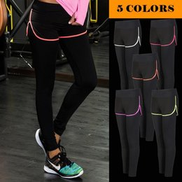 4eea345474c3f Women Fitness Leggings With Shorts Skirt Gym Yoga Exercise Black Workout  Training Sport Clothes Running Clothing Sports Pants