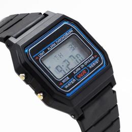 Wholesale Multifunctional Digital Watch - Multifunctional Digital Wristwatches men's Sports Watches Silica gel LED watch Stopwatch alarm clock Luminous Christmas gifts
