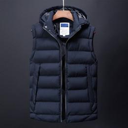 Canadá chaleco de la moda de los hombres ocasionales para hombre abajo de la chaqueta ropa de abrigo coreano streetwear vestido masculino trench otoño invierno abrigo para hombres desde fabricantes