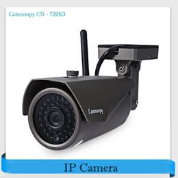 Wholesale Ir Waterproof Wireless Ip Camera - Camnoopy CN - 720K3 720P H.264 WiFi IP Camera ONVIF Motion Detection Outdoor Waterproof IR-Cut Infrared Wireless Security Camera