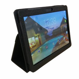 """Wholesale Tablet 3g Phone China - Leather case for 10"""" 10.1 inch Samsung N9106 MTK6572 MTK6582 MTK6589 MTK6592 tablet phone 3G tablet PC general case I-PT"""
