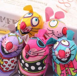 2019 brinquedo colorido do gato do rato Produto do animal de Estimação Fat Cat Toy Gordura Da Lona Rato Colorido Com Cat mint Catnip Engraçado Brinquedos Para Gato Do Rato desconto brinquedo colorido do gato do rato