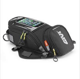 Крепление телефонов онлайн-GIVI Мотоцикл новый топливный мешок мобильный телефон навигационная сумка многофункциональный небольшой масляный бак пакет магнитные фиксированные ремни фиксированной K