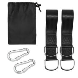 Wholesale Super Belts - 1set Of Super Strong outdoor safety Hammock Strap Belt Hamac Hamaca Hamak Traveling Portable Hanging Tree Rope with arabiner