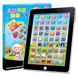 Wholesale Children Education Pad - Computer Laptop Y Pad 3 Hi-pad Toys New Learning & Education Laptop Y Pad English Learning Fun Toys without Data lines DHL shipping