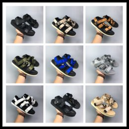 Wholesale nice sandals - 2018 Newest JAPAN Boomer summer sandals Nice HIGH Quality New Suicoke Webbing Sandals Slides size EUR36-44 13 COLOR