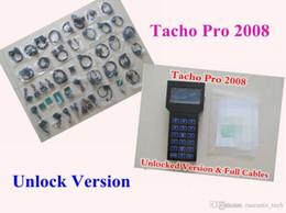 Melhor correção de milhagem on-line-Hot Desbloquear Versão tacho pro universal Odômetro Correção Programador Universal Super TACHO PRO 2008 Tacho pro Mileage v2008.07 melhor